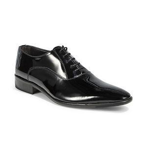 Black Brown 1826 | Italy Truman Leather Oxfords